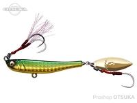 メガバス マキッパ -  20g #6 グリーンゴールド 20g