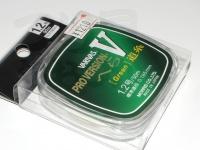 バリバス プロバージョン - Vヘラ #グリーン #1.2/50m ミチイト