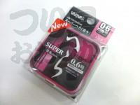 バリバス スーパーへら - 道糸ピンク #ピンク #0.6/50m ミチイト