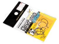 モーリス フッキングマスター ワームフック - ネコリグオフセット ライトクラス  サイズ #2