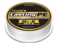 バリバス アバニ キャスティングPE -  SI-X ホワイト(ターコイズマーキング) 5号(MAX80lb) 300m巻き