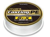バリバス アバニ キャスティングPE -  SI-X ホワイト(ターコイズマーキング) 5号(MAX80lb) 400m巻き