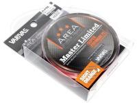 モーリス バリバス - エリアマスターリミテッド プレミアムPE #サイトオレンジ(ブラックマーキング) 0.175号 MAX5.5lb 75m