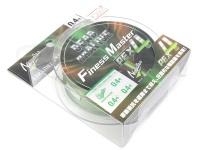 バリバス デッドオアアライブ -  フィネスマスターPE X4  #ダークグリーン/モーショングリーン 0.4号 9.5lb 150m