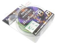 バリバス デッドオアアライブ - ウルトラパワーフィネスPE X8 #ダークグリーン&モーショングリーン 1号(MAX20lb) 150m巻き