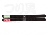 バリバス スプールバンド - VAAC-33 #ライトグリーン/レッド サイズ全長335mm 幅23mm
