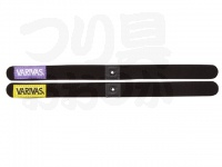 バリバス スプールバンド - VAAC-33 #パープル/イエロー サイズ全長335mm 幅23mm