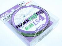 バリバス アバニ エギング - LS4 PEティップラン #グリーンベースのマーキングライン 0.4号 (8lb)200m