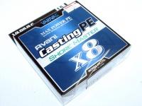 バリバス アバニ キャスティングPE -  ショアマスターX8 #ホワイト 1.5号 MAX28.6lb 200m
