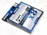 バリバス アバニ キャスティングPE - マックスパワーX8 #ホワイト 2号 MAX33lb 200m巻き