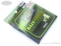 モーリス トラウトアドバンスベイトフィネス - スーパートラウトアドバンス ベイトフィネスPEX4 #ライトグリーン/ライトイエロー 0.5号 MAX.9LB 100m