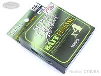 モーリス トラウトアドバンスベイトフィネス - スーパートラウトアドバンス ベイトフィネスPEX4 #ライトグリーン/ライトイエロー 0.8号 MAX.15LB 100m