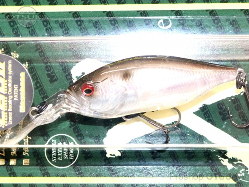 メガバス ディープX 100 LBO フローティング 59.0mm 3/8oz 2.5mダイバー #水郷シークレット