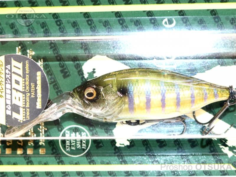 メガバス ディープX 100 LBO フローティング 59.0mm 3/8oz 2.5mダイバー #コモリンギル