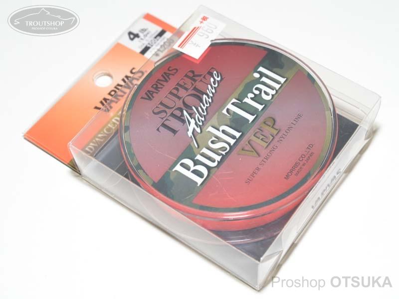 モーリス スーパートラウトアドバンス スーパートラウトアドバンス VEP ブッシュトレイル 1.0号(4lb) 0.165mm #ハイライトオレンジ