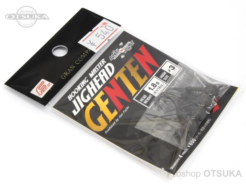 モーリス ジグヘッド ゲンテン 1.8g #3 エコ認定商品 -