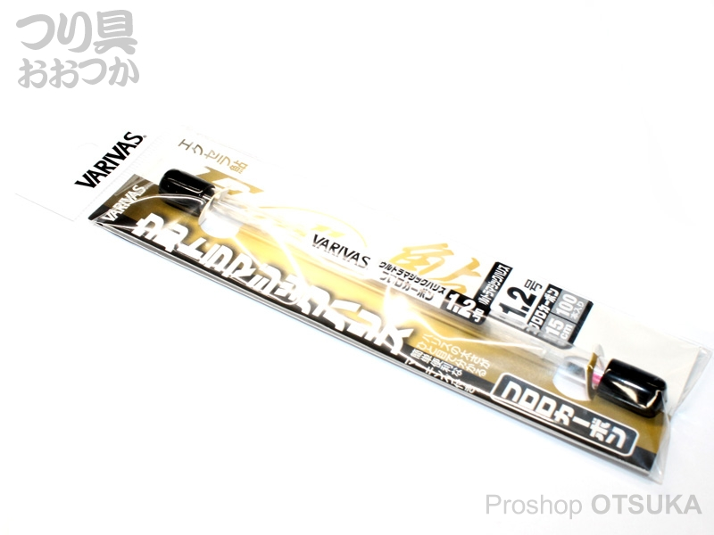 バリバス エクセラ鮎 ウルトラマジックハリス フロロカーボン 1.2号 15cm. #カラーマーキング レッド