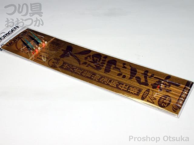 もりげん 大漁アジ仕掛 D-225 11号ハリス3号幹糸4号 #サバ皮醤油