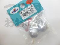 キヨウ産業 丸型 - 丸玉 糸付  10号