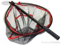 ムカイ ラバーネット - フルカーボンネット タイプIII - 全長118cm 網内径48cmX40cm 深さ約22cm