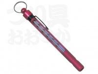 パズデザイン アルマイト水温計 - ZAC-921 #ピンク 約13cm