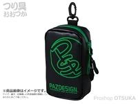 パズデザイン PSLターポリンポーチII - SAC-114 ブラック/グリーン -