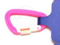 パズデザイン PSLカラビナ(ルミロック) - PAC-215 #BK/ピンク サイズL