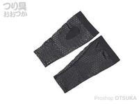パズデザイン コンプレッションレッグカバー - SCR-011 レギンスタイプ #ブラック サイズS-M ふくらはぎ30~38cm