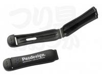 パズデザイン ベルトストッパー - PAC-272 #ホワイトロゴ 50mm
