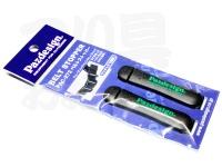パズデザイン ベルトストッパー - PAC-272 #グリーンロゴ 50mm