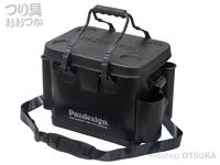 パズデザイン PSLバッカンV - PAC-290 #ブラックシルバー Aタイプ Mサイズ W36×D24×H30cm