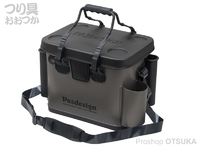 パズデザイン PSLバッカンV - PAC-290 #ガンメタブラック Aタイプ Mサイズ W36×D24×H30cm