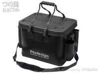 パズデザイン PSLバッカンV - PAC-291 #ブラックシルバー Aタイプ Lサイズ W40×D28×H33cm