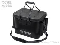 パズデザイン PSLバッカンV - PAC-294 #ブラックシルバー Bタイプ LサイズW40×D28×H33cm