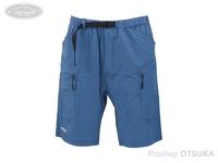 パズデザイン ストレッチショーツ - SPT-011 #ブルー Lサイズ