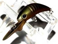 ラッキークラフト エアービートル - DW F #ゴーストグリーンカモ フルペイント 33mm 2.0g フロ-テイング