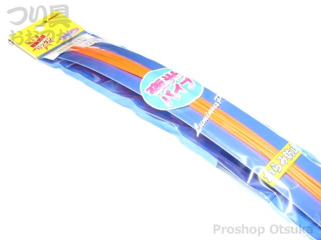 富士ベイト 夜光パイプ 夜光パイプ 1.5mm #蛍光オレンジ