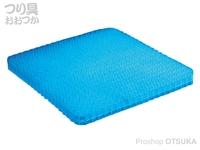 サニー商事 フィッシングジェルシート -  #ブルー 40cm×32cm×厚さ3.5