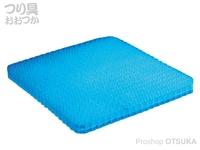 サニー商事 フィッシングジェルシート - ミニ # ブルー サイズ 340×240×35mm