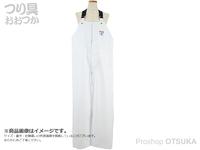 井の口物産 フレッシュレイニー サロペット - T154-W ホワイト L