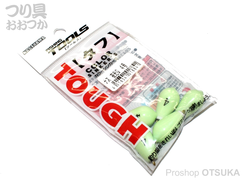 景山産業(株) ナス型 ナス型 タフ 4号 夜光グリーン