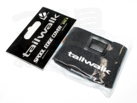 エイテック テイルウォーク - スプールエッジカバー # ブラック Mサイズ 2500-4500番クラス