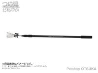 エイテック テイルウォーク -  ワイドロッドベルト デラックス #ブラック トップサイズ30×6cm バットサイズ40×8cm