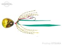 エイテック クレイジー - タイラバ #03 グリーンゴールド 150g