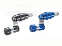 エイテック ランディングギア - ジョイント チタンカラー(写真左) 材質70アルミ&ステンレス