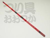エイテック アイスマン FHトップ - S/M 赤 元径5mm 錘負荷1.5〜2.0g