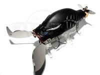 アダスタ ザックロール - ハートブラスター #023 マットブラックボーン 90mm 33g フローティング
