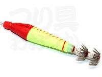 脇漁具製作所 BP鉛スッテ - 10号 #赤黄 10号