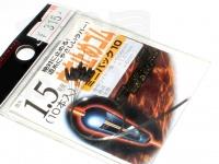 ラインシステム ウキ止めゴム - ミニパック10 #ブラック 1.5号用