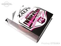 ラインシステム ザルツ -  バスハード インジケーター FC #オレンジマーキング 8lb 比重1.78 フロロカーボン